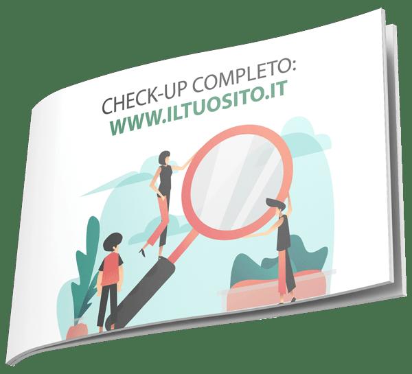Check-up completo al tuo sito internet